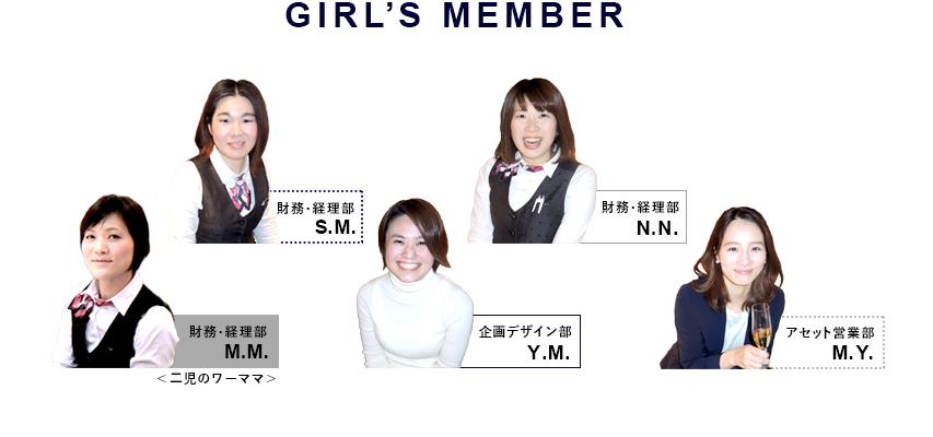 GIRL'S MEMBER