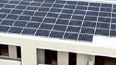 太陽光発電の採用